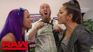 Bayley and Sasha Banks try some role reversal during counseling: Raw, July 2, 2018