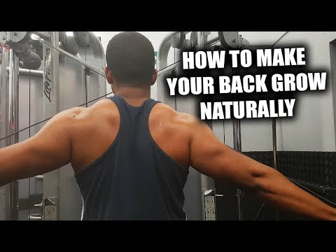3 Exercises for Building a Big Back Fast