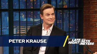 Peter Krause Gets Unique Advice on Filming Sex Scenes