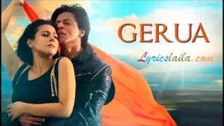 Geruwa Original Karaoke With Lyrics - Arijit Singh & Antara Mitra, Dilwaale,