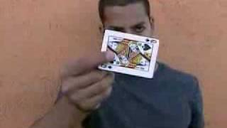 David Blaine - card trick for YouTube *MUST SEE*
