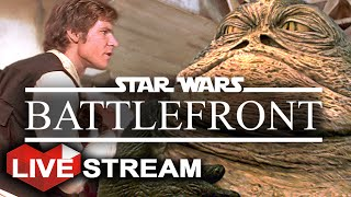 Star Wars Battlefront: Outer Rim | Working for Jabba - Hutt Contracts! | Live Stream