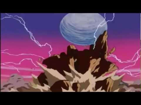 Goku si trasforma in Super Sayan 4 HD video originale