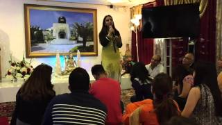 Nidhi Aunty's Satsang on 24th April 2016 - JAI GURUJI!