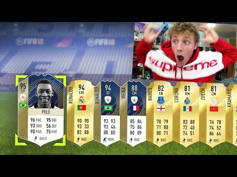 Xxx Mp4 95 PELE 94 RONALDO IN THE MOST ICONIC FIFA 18 PACK OPENING 3gp Sex