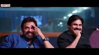 Victory Venkatesh Cameo Making | Agnyaathavaasi Songs | Pawan Kalyan | Trivikram