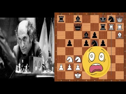 Mikhail Tal sacrificing ALL his pieces – from pawn to queen