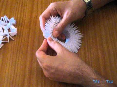 Papiroflexia modular Cisne
