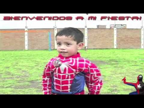 Fotoeventos DF Video El Cumpleaños de Santiago y Spiderman 3