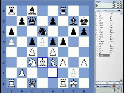 Blitz Chess #1465 with Live Comments Kings Indian Averbkah vs Iazgim