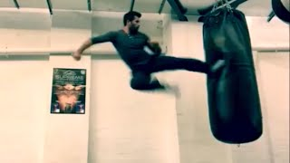 Scott Adkins (Yuri Boyka) training for Undisputed 4