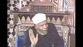 12- تفسير سورة  طه- الآية ( 98 -- 105 ) - الشيخ متولي الشعراوي