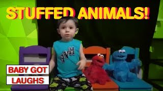 Babies and Toddlers Love Stuffed Animals | The Cutest Compilation 2017