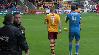 Cheeky Cadden prevents Aberdeen quick throw-in