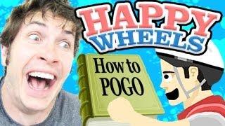 HOW TO POGO JUMP - Happy Wheels