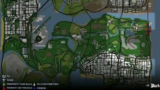 مود التنقل الى اي مكان عبر الخريطة #لعبة GTA: SA للاندرويد HIGH 480p