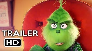 The Grinch Official Teaser Trailer #1 (2018) Benedict Cumberbatch Animated Movie HD