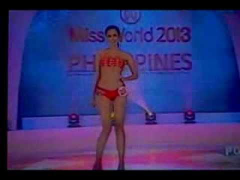 MEGAN YOUNG Miss World Philippines 2013 Swimsuit