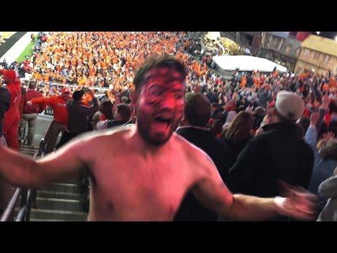 Clemson Fan goes CRAZY