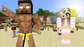 If Herobrine was in Love with a Girl - Minecraft