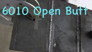 Stick Welding Tips for 6010 Open Root &7018 fill cap