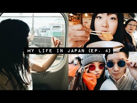 Eating ALL THE FOOD ft. My Dad!👨👧🍱 | Japan Vlog (Ep. 4)