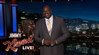 Shaq's Guest Host Monologue on Jimmy Kimmel Live