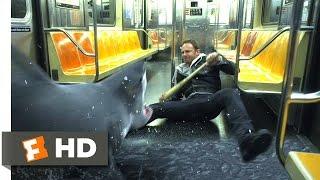Sharknado 2: The Second One (4/10) Movie CLIP - Subway Sharks (2014) HD