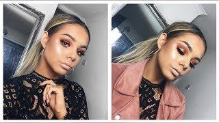 GO TO GLAM AF GRWM | HAIR AND MAKEUP