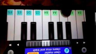 Dheere dheere se meri zindagi pianon tutorial