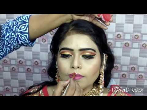 Xxx Mp4 इंडियन ब्राइडल मुस्लिम मेकअप Indian Muslim Bridal Makeup With Braid Hairstyle On Thin Hairs Hindi 3gp Sex