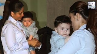 Kareena Kapoor & Taimur's SUPER CUTE Pics At Laksshya Kapoor's Birthday Party | LehrenTV