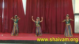 Dance for Thiruppadai-Atchi Padhikam of Thiruvasagam
