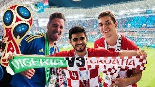 CROATIA vs NIGERIA - Russia World Cup Vlog #1