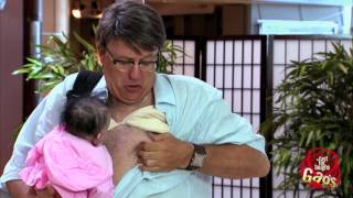 مقلب الأب والرضاعة