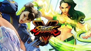 LAURA VS. CHUN LI - WHO WINS?! Street Fighter 5 Online Matches