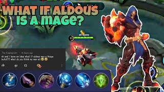 Aldous Mage Build Mobile Legends | Comment Trolling 😁👍