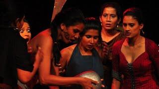 Lysistrata  Aristophnes (විසේකාරියෝ) wisekariyo Stage drama Academic players presents