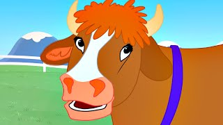 Old MacDonald had a Farm Nursery Rhyme | Children's Songs by FluffyJetToys Kids Animation