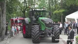 Fendt 1050 Vario and tractors preview - Germany, July 7/8 2014