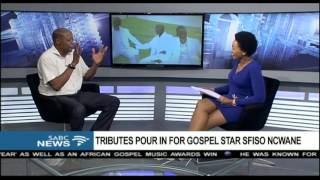 Mzwakhe Mbuli remembers Sfiso Ncwane