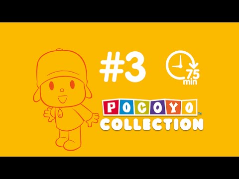 Pocoyo more than one hour of cartoons for kids complete episodes PART 3