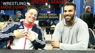 JINDER MAHAL ON WWE & THE FUTURE. 1WRESTLING  INTERVIEW. ANDRE CORBEIL. PWA WRESTLING HOMECOMING