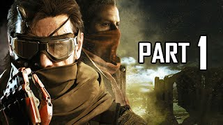 Metal Gear Solid 5 The Phantom Pain Walkthrough Part 1 - First 3.5 hours! (MGS5 Let's Play Gameplay)