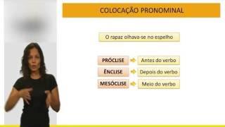 Português para concursos públicos - Colocação Pronominal