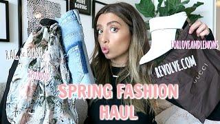 HUGE SPRING CLOTHING HAUL! PRE COACHELLA!