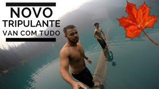 VAN LIFE PROVA DE FOGO 2 | VIVER NUMA VAN | MOTORHOME |   TEMP. CANADA | EP.06