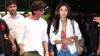 Airport Spotting 27th July   Shahrukh Khan, Shilpa Shetty, Vidya Balan, Lisa Haydon