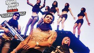 NEW GTA 5 GUNRUNNING DLC HEIST LIFE!! - GTA 5 SPENDING SPREE & NEW VEHICLE CUSTOMIZATION RESEARCH