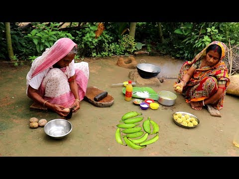 Xxx Mp4 Bangali Kancha KOLAR KOFTA Recipe Raw Banana Kofta Curry Prepared By Grandmother Village Food 3gp Sex